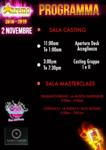 SANREMO MUSIC AWARDS_2 NOVEMBRE